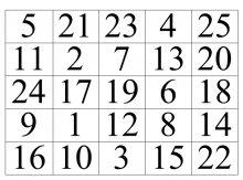 Таблица шульте инструкция по применению